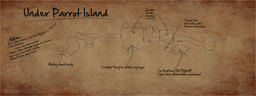 Othar's Parrot Island Map