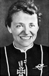 SS-Sturmbannführer Hanna Reitsch