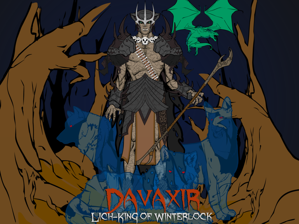Davaxir, Lich-King of Winterlock