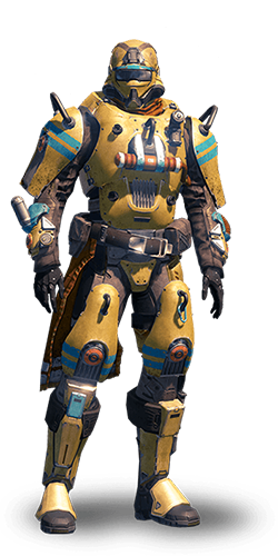 Sample - Combat Cyborg - Yellow Zeke