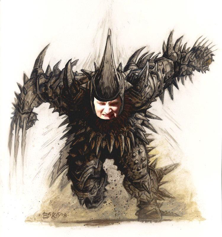 Grunthor Blazehorn