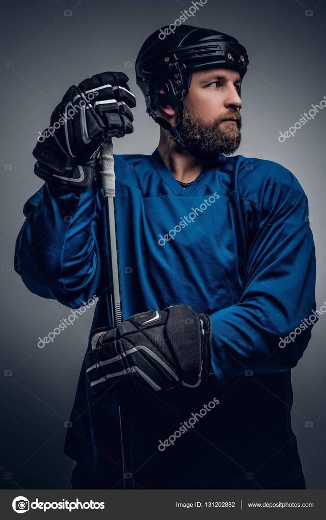 Super-Eishockey-Mann