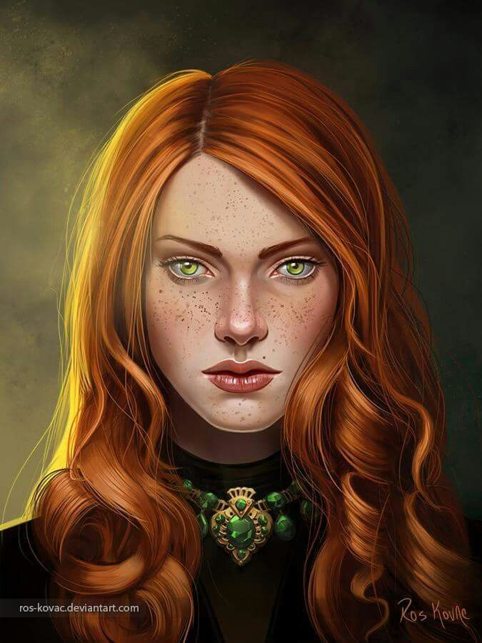 Elyse Stark nee Malaker 'The Blood Rose of the Vale' 'The Red Bride'