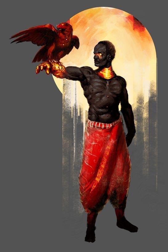 "United Legion: M: W'Kabi Ogola ""Shaman"""