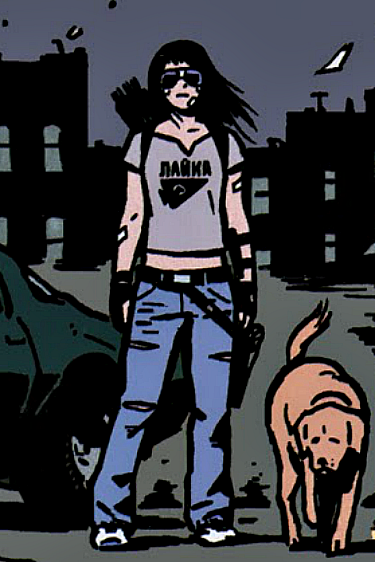 "Hawkeye - Katherine ""Kate"" Elizabeth Bishop"