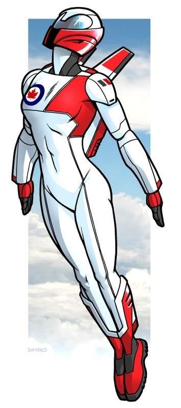 "United Legion: F: Zoie O'Neil ""Commander Canada"""