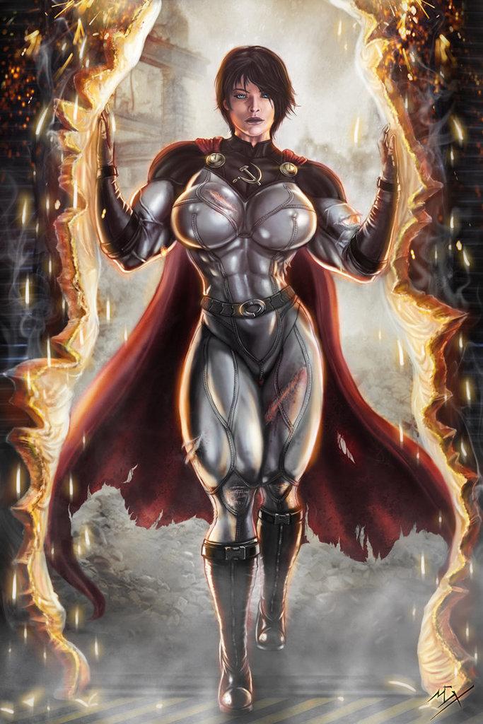 Soviet Super Woman