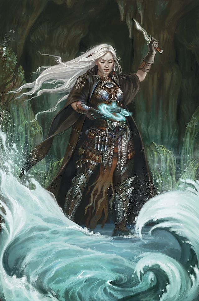 High Priestess Drosdin