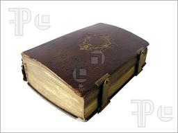 Mysterious Leather Bound Book