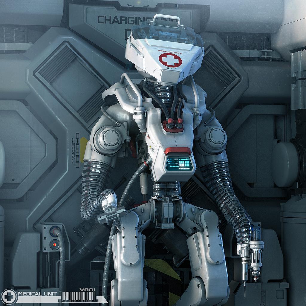 Healbot 37Q9   Starfinder: A Brave New World   Obsidian Portal