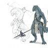 Barbarian Archer (Lizardfolk)