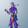"Villain: M: Gwynplaine Osborn ""Joking Goblin"""