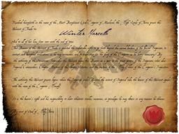 Khal Dynasty Warrant of Trade