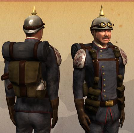 Free-Rifle trooper