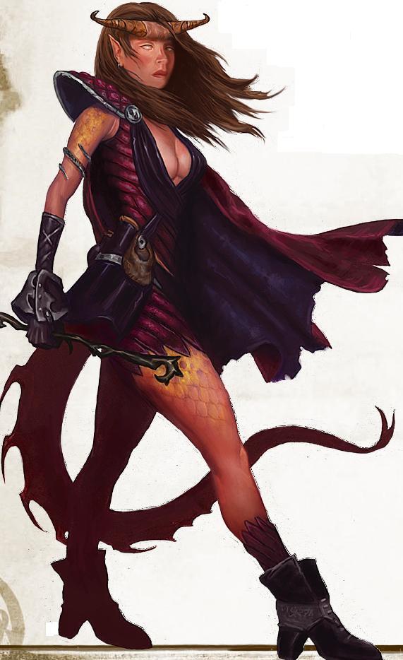 Meredith- Warlock of Asmodeus