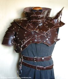 "Leather ""Battle Harness"" Armor"