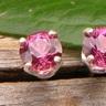 Naeva's Garnet Earrings