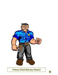 Police Chief Barney Owens