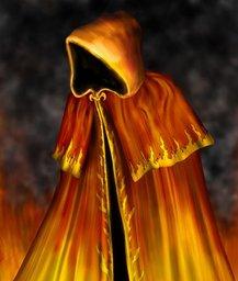 Capa Cerimonial Arcanos Vermelhos