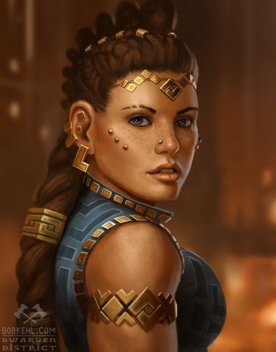 Queen Mystera the Golden