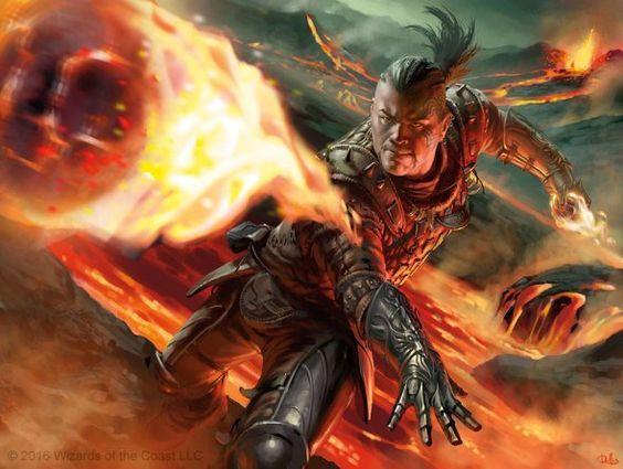 Reginald, Flameslinger