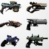 Ranged - Laser Pistol