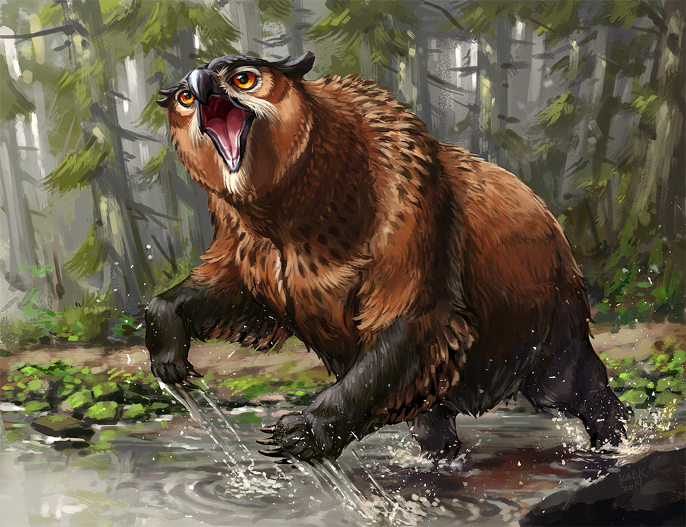Maeve the Owlbear