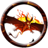Indomitable Fire Dire Bat
