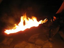 Katana of the Flames