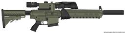 'Vetus Fidelis' - Salem's Exitus Rifle