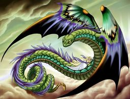 Large Winged Serpent