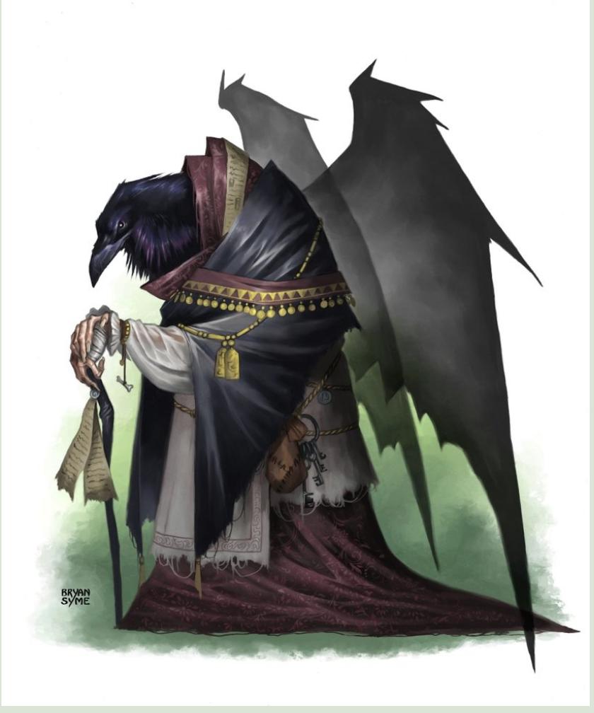 Oberon Longshanks, Heirophant of Desna