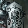 Black Rose Shield
