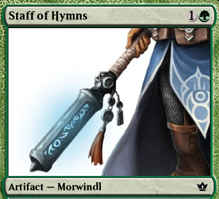 Item: Staff of Hymns