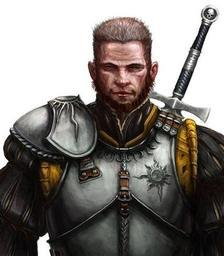Corbin, Battlepriest of Gorum, General