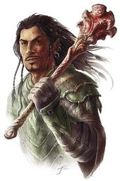 Eneric, Earthpriest of the Green Faith