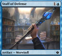 Item: Staff of Defense