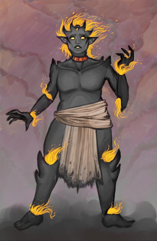 Flamekin Wild Mage