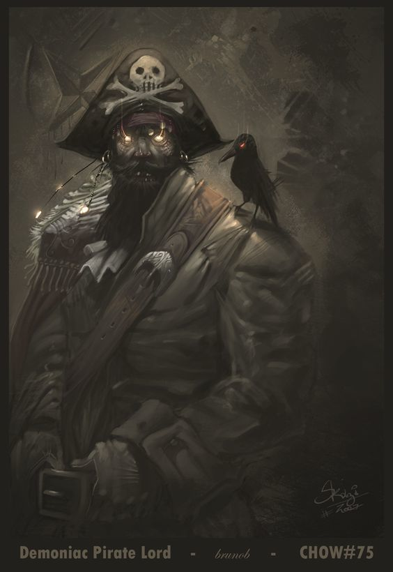 Corvus corone (Captain Crow)