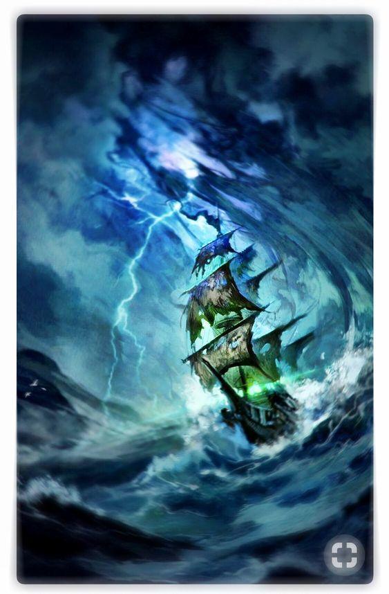 Stygian Tempest(crow's ship)