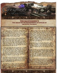 The History of the Banewarrens