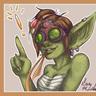 """Teena aka Apple aka """"That little green psychopath"""""""
