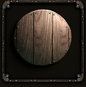 +1 Light Wooden Shield