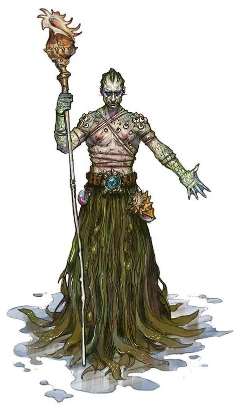Suruki- Water Cult Priest