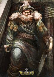 Captain Johannes Tiberius Kurkossa