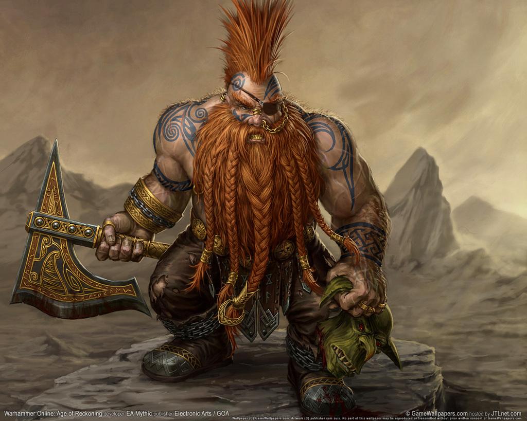 King Gotrek Gurnisson