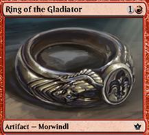 Item: Ring of the Gladiator