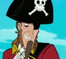 Lefty, the Pirate
