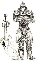 Knight Sergeant Taryn Lorukeryn