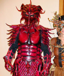 Dragonsheart Armor of King Connar IV of Armmarindar